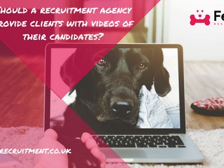 Should a recruitment agency provide clients with videos of their candidates?