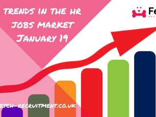 HR Job Market Update – January 2019