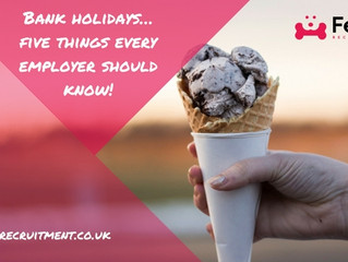Bank holidays… five things every employer should know!