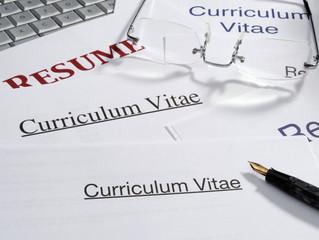 Writing a great CV...
