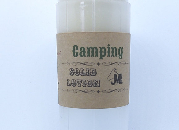 Camping Solid Lotion