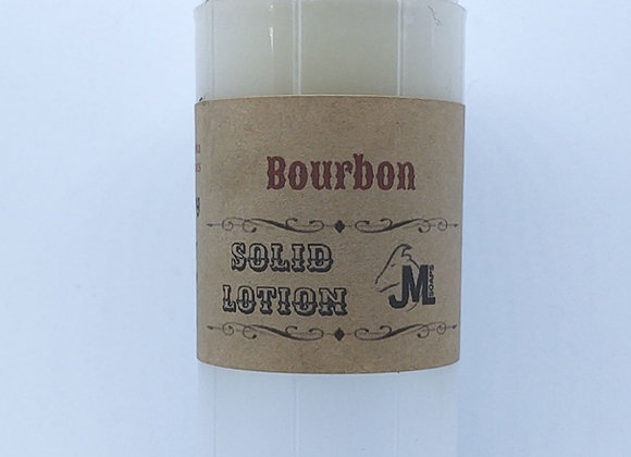 Bourbon Solid Lotion