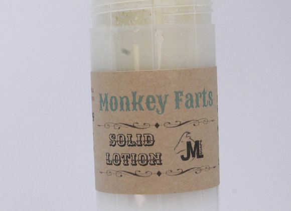 Monkey Farts Solid Lotion