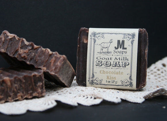 Chocolate Kiss Soap