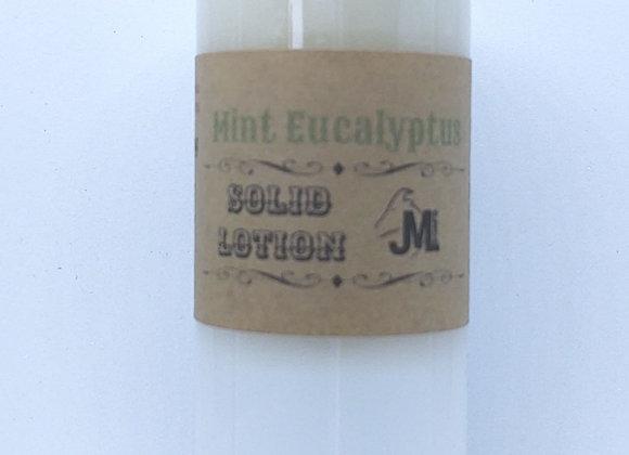 Mint Eucalyptus Solid Lotion