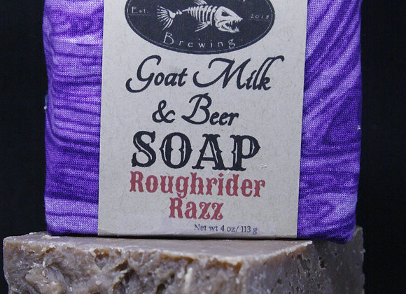 Rough Rider Razz Beer Soap
