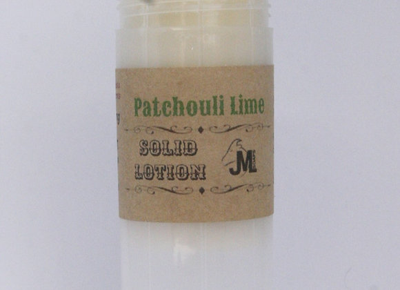 Patchouli Lime Solid Lotion