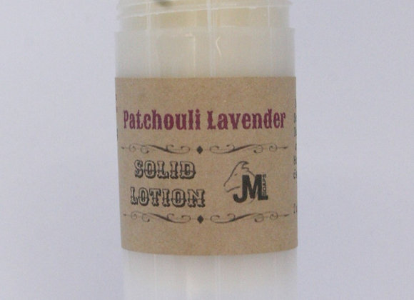 Patchouli Lavender Solid Lotion