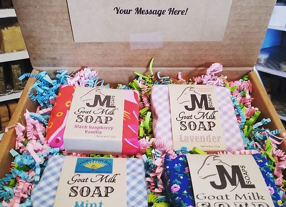 Gift box 4 Soaps