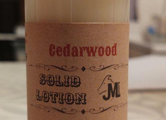 Lumber Jack (Cedarwood) Solid Lotion