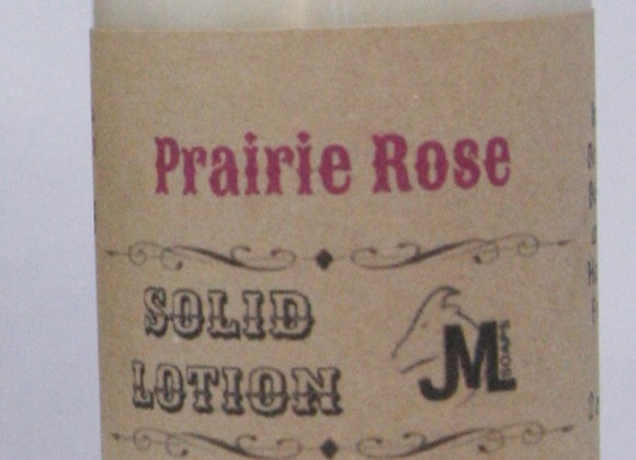 Prairie Rose Solid Lotion