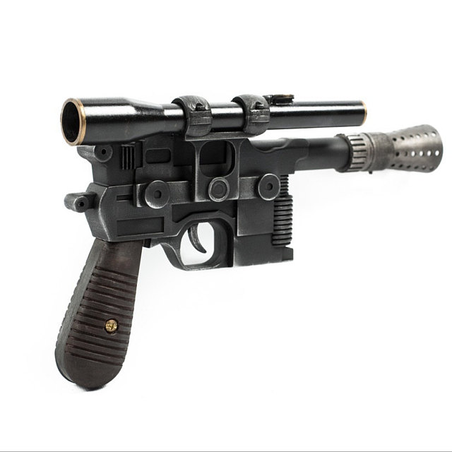 Han Solo Blaster painted