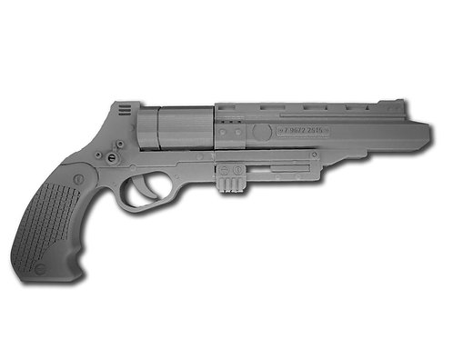 Tobias Beckett RSKF-44 Blaster 3D Printed Replica Prop