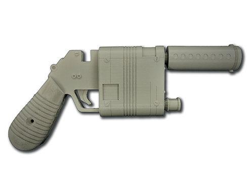 Star Wars NN-14 Rey Blaster - The Rise of Skywalker 3D Printed Replica Prop