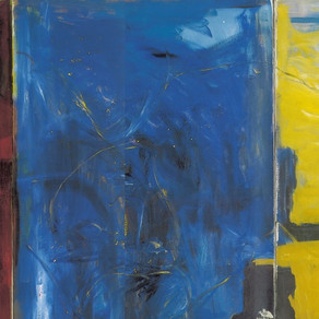 Triptych. From the series Blue, Red, Yellow, 1994-1996