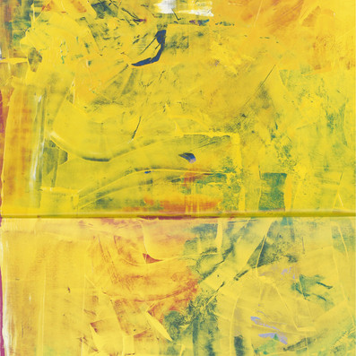 Diptych. From the series Blue, Red, Yellow, 1994-1996