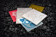 Magnesium Dies for Embossing – Debossing (Plate Thickness 1.0, 1.63, 2.5 ,7.0)