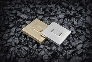 Microembossing dies (available material: magnesium7mm, brass 7mm)