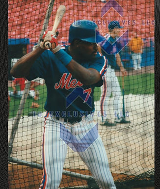D.J. Dozier New York Mets Photo *EXCLUSIVE COLLECTION*