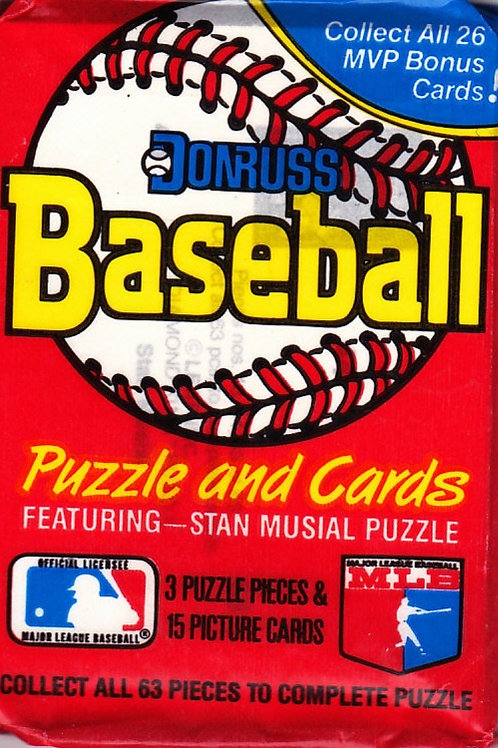 1988 Donruss Baseball SEALED Pack w/15 Cards
