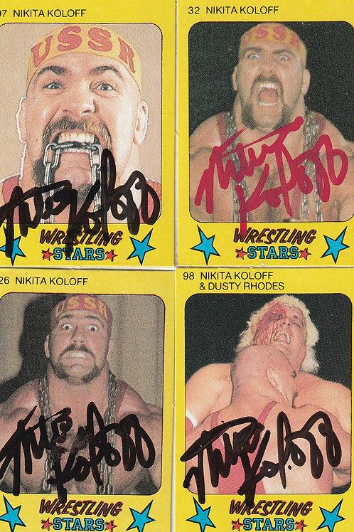 Nikita Koloff Monty Gum Cards