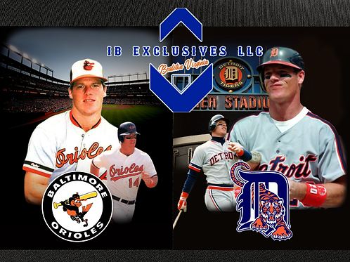Mickey Tettleton Collage 8x10 (Tigers or Orioles)