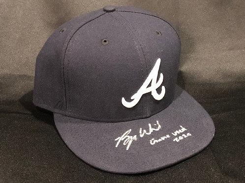 Bryse Wilson Game Used 2020 Season Atlanta Braves New Era Hat (1)