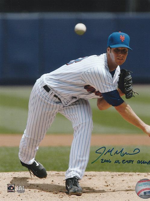John Maine Hand Signed New York Mets 8x10 w/ Inscription
