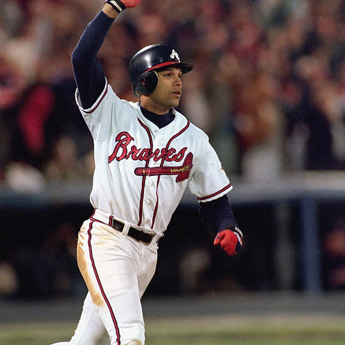 David Justice PRIVATE SIGNING