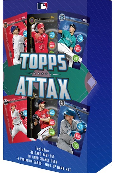 2020 Topps Attax Topps.com EXCLUSIVE 62 Card Set w/ 2 Variation Cards