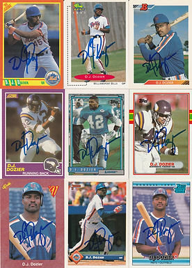 D.J. Dozier Trading Cards