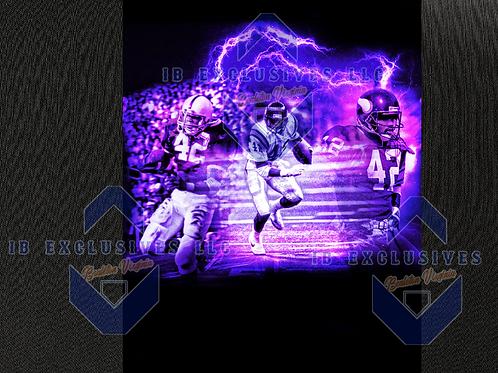 D.J. Dozier Football Career Collage