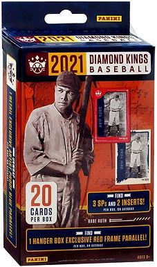 2021 Donruss Diamond Kings Baseball 20 Cards Hanger Pack (1) Red Border Parallel