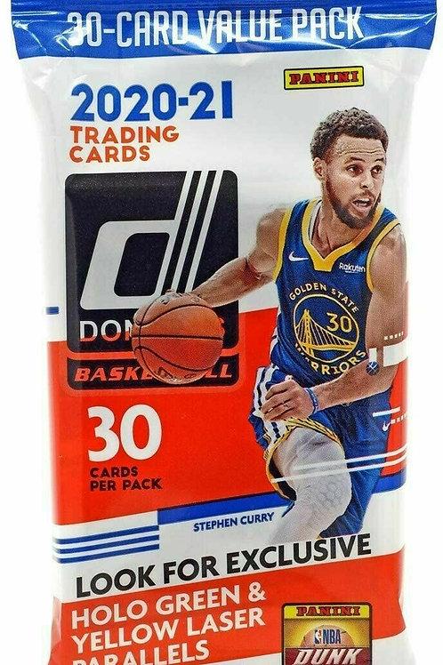 2020-21 Donruss NBA Basketball Retail Fat Pack w/ 30 Cards