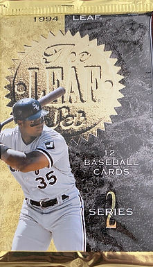 1994 Leaf Series 2 Sealed Single Pack w/ 12 Cards Per Pack