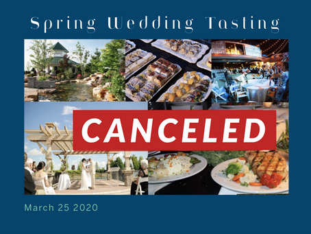 Spring Tasting Cancellation Notice