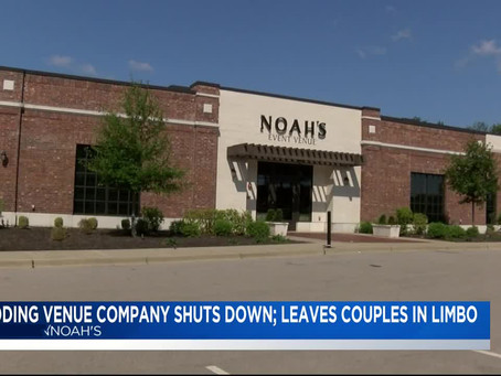 "In The News~"" Wedding Venue Closed Unexpectedly"""