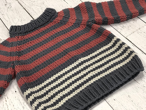Chunky cotton sweater (4 years)