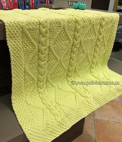 Cabled Blanket