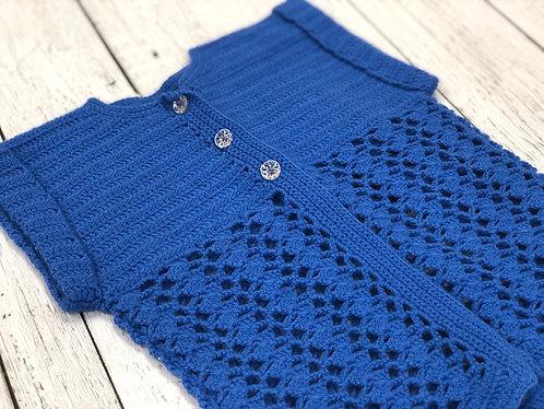 Cardigan crochet 4 ans