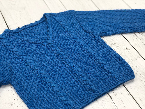 Cabled Cardigan (18 months)