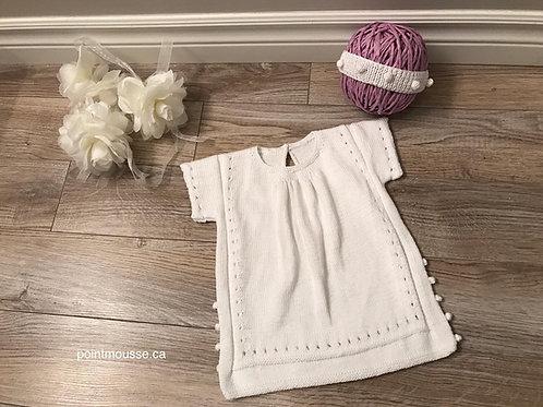 Robe coton 3/6 mois
