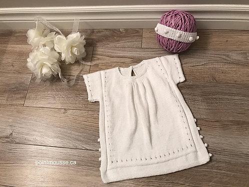 Cotton dress 3/6 mois
