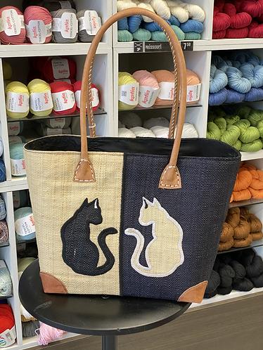 Duo de chats (blanc)/moyen