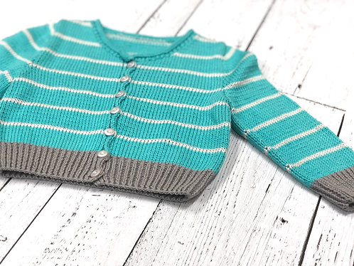 Cropped cardigan (2 years)