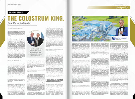 The Colostrum King - from Rover to Royalty