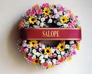 Couronne mortuaire Salope