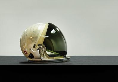 NASA LEH Space Shuttle helmet (launch-entry), usée by Charlie Bolden, Johnson Space Center, Houston