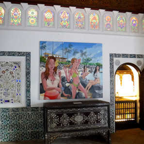Shangri La - Vue d'exposition