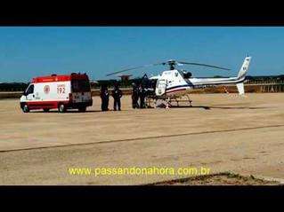 Potiguar 01 realiza transporte de paciente de Mossoró para Natal